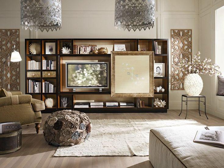 Soggiorno legno ~ Migliori immagini soggiorni moderni in legno mobilificio maieron