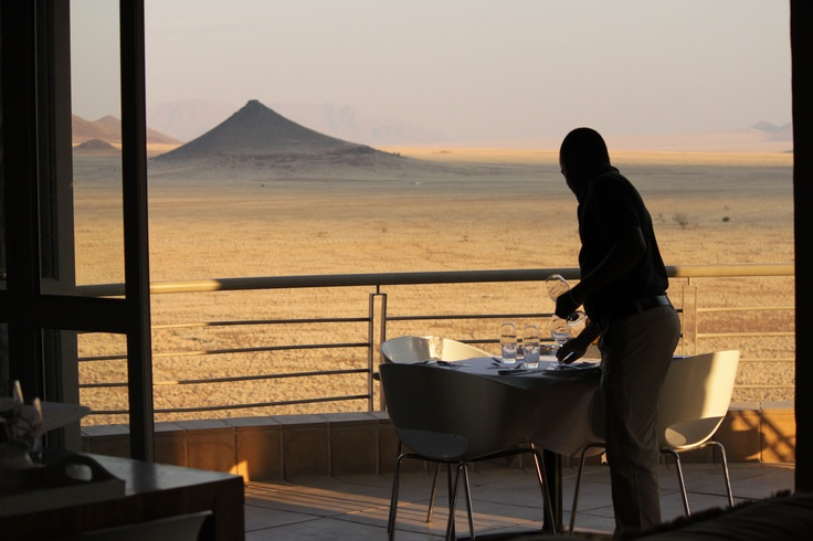 The perfect meal setting? #Namibia