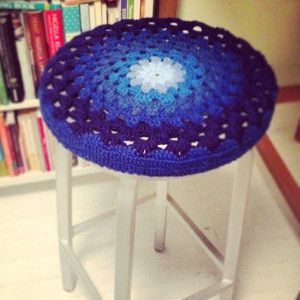 Genius Crochet Bar Stool Covers | AllFreeCrochet.com