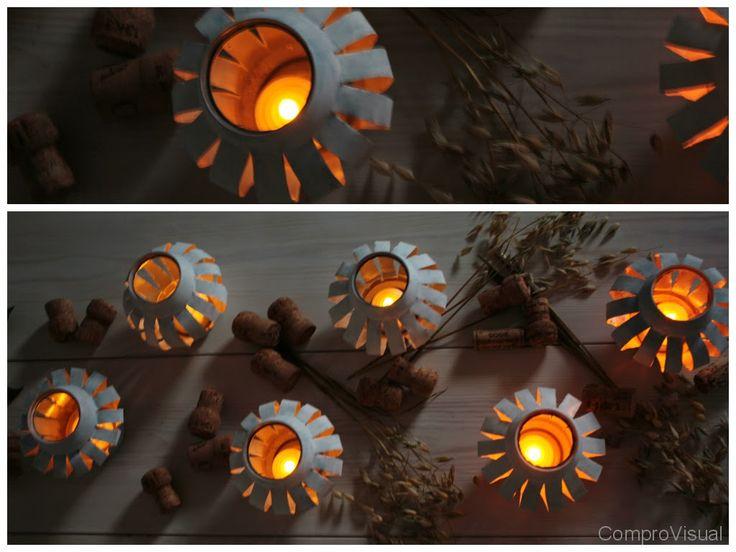 DIY can lantern <itsetehty tölkkilyhty>