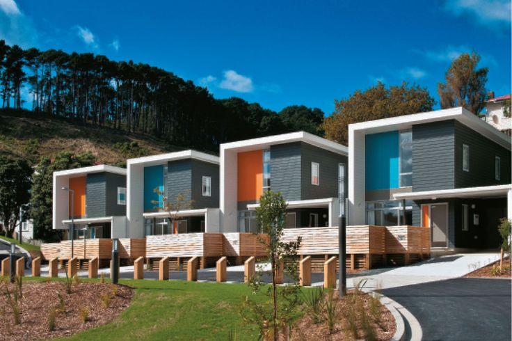 Regent Park Apartments for City Housing, Wellington, Designgroup Stapleton Elliot