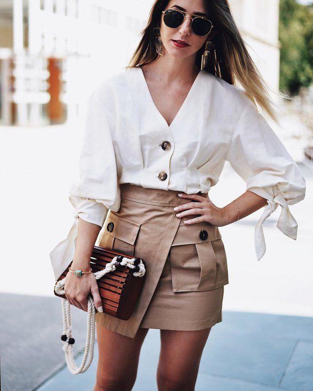 MAPETITEBYANA te muestra una combinación neutral pero exquisitamente  llamativa!!   Roupas, Roupas fashion, Looks
