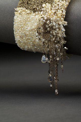 Dangle Couture Cuff | Andrea Gutierrez Jewelry