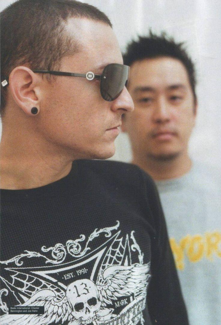 Chester Bennington and Joe Hahn  Linkin Park