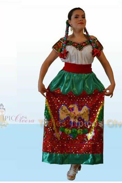 Resultado de imagen para vestido tipico de puebla