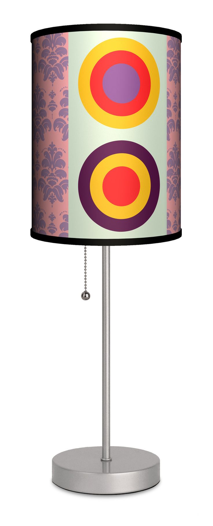 "Artist Ruben Esparza ""Barroco Moderno"" 20"" H Table Lamp with Drum Shade"