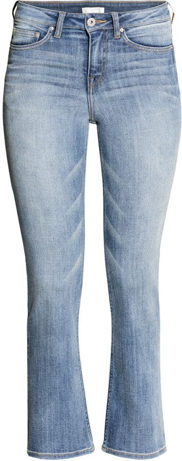 H&M - Kick Flare Regular Jeans - Light denim blue - Ladies