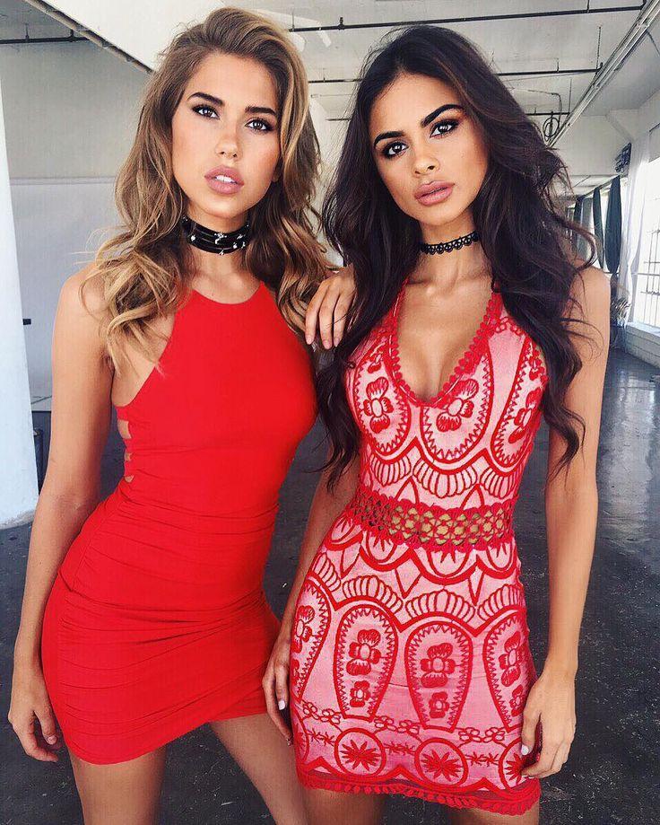 New Arrivals!! ❤️Downtown LA with these two TM babes today @karajewelll & @sophiamiacova  #tigermist @tigermistloves