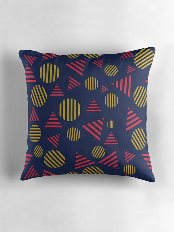 Blue zippered pillow covers blue cushion covers zipped