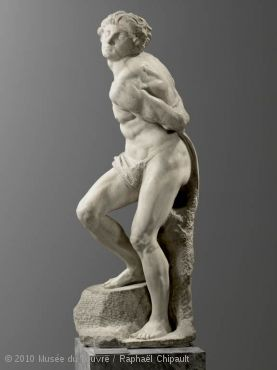 *ルーヴル美術館の見所*ミケランジェロの《奴隷》