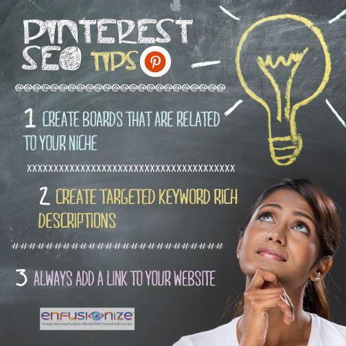 Pinterest SEO Tips - social media marketing