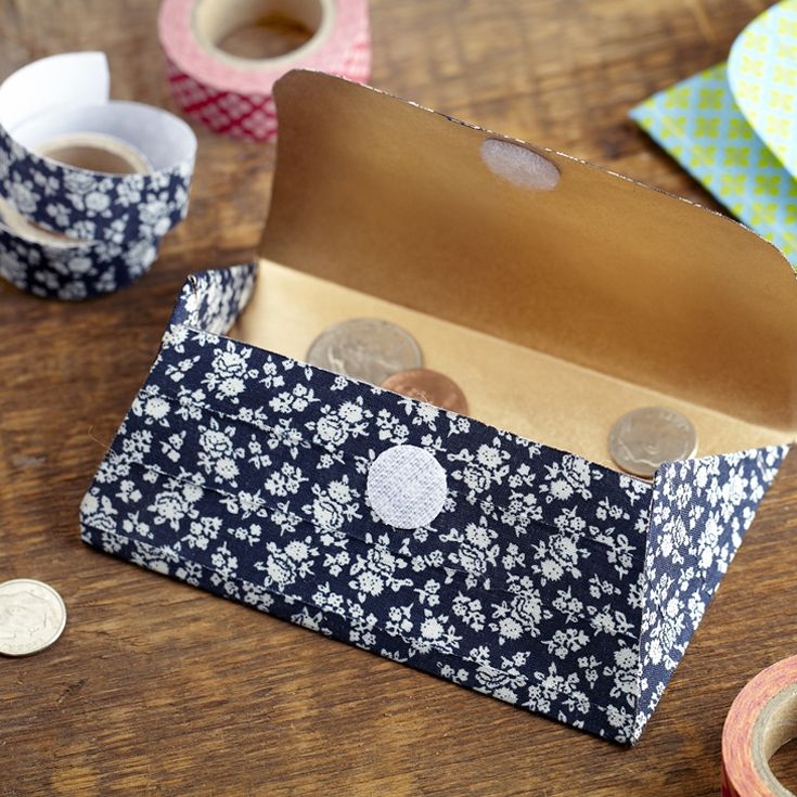 Never Lose Loose Change Again By Creating One Of These 3 Cute Diy Change Purses For More Useful Crafts Visit P G Everyday Today