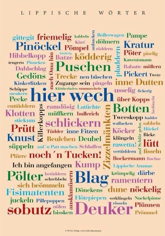 Ich liebe ostwestf lisch spr che pinterest for Hamburg zitate