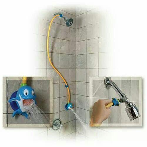 Para la ducha.