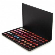 66 Color Lip Gloss Palette: Shiny, Non-Stick Formula- BH Cosmetics!