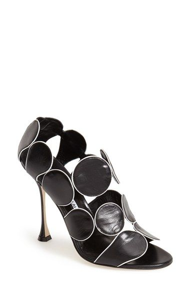 Manolo Blahnik 'Haribal' Geometric Boot (Women) available at #Nordstrom