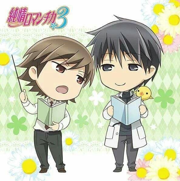 Junjou Romantica | Junjou Egoist | Kamijuo Hiroki | Kusama Nowaki | Alice :3