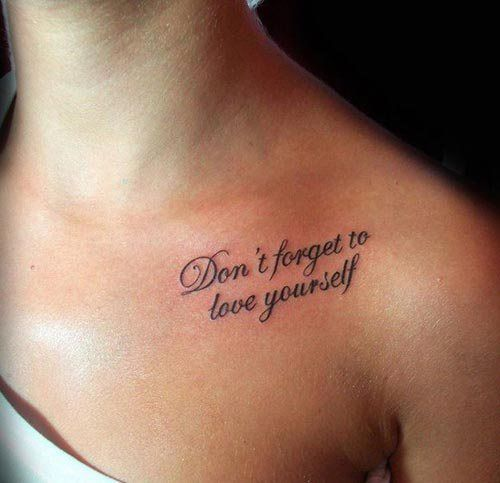 Meaningful tattoo quotes have always been around in the world of tattoo's and are extremely popular. People have many different reasons why they want to have a tattoo saying. Certain quotes can represent something different for each person. To some, it might be a reminder of a memorable part of their life, or the expression of…