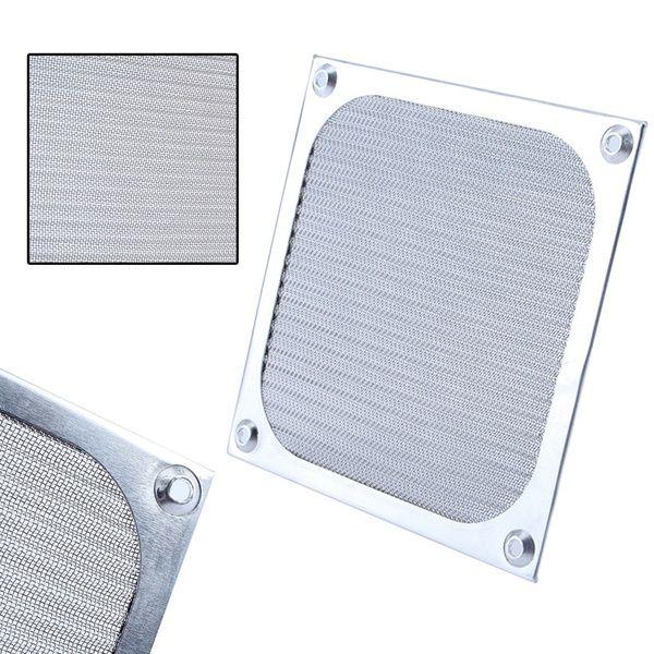 120mm PC Computer Fan Cooling Dustproof Dust Filter Case fr Aluminum Grill Guard