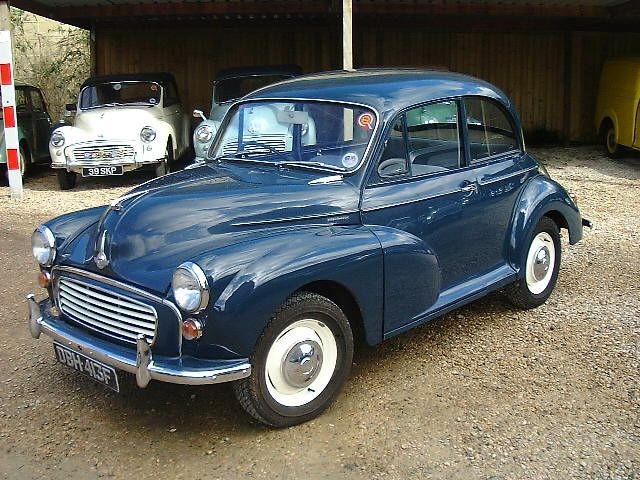 Morris minor Colour Schemes