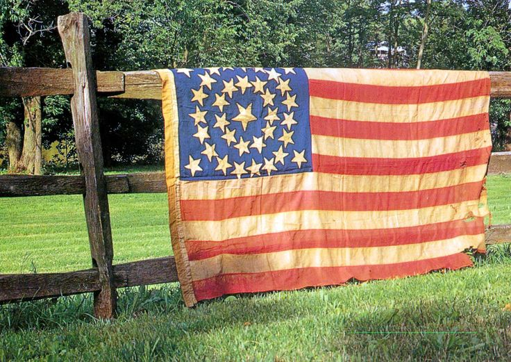 Olde Glory...oh I love this flag and picture of ours
