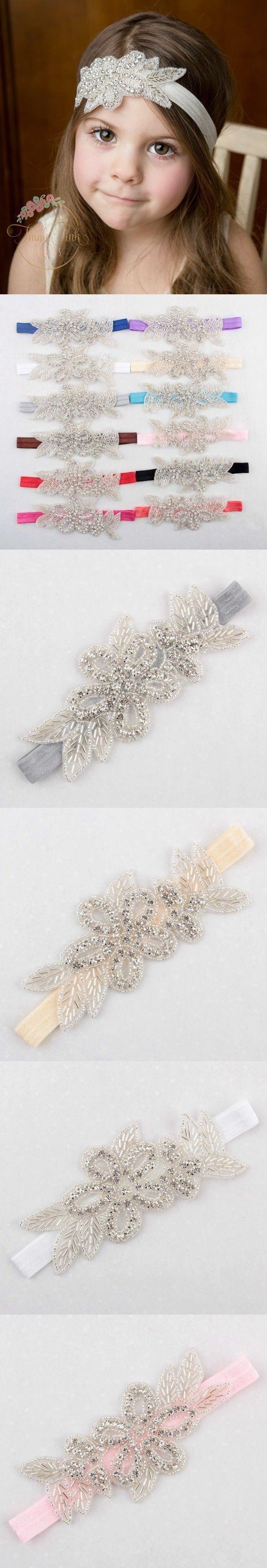 Zara baby hair accessories - Hot Retail 2016new Europe And America Pop Baby Diamond Leaf Headband Vintage Baby Headband Accessories