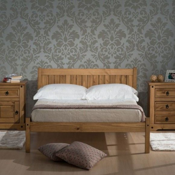 Hutton Wooden Bed - Luxury Leather Beds - Beds.co.uk - The Bed Outlet