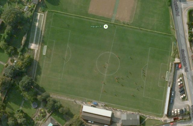 The northern city of Sheffield is home to both the Sheffield F.C. and Hallam F.C. - the first and second oldest football clubs in the world. Hallam also boasts the world's oldest ground and what could be the wonkiest half-way line...