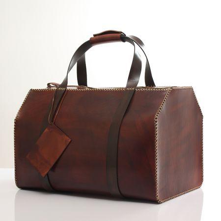 Agarapati Leather Deri Valiz El Dikimi SV02