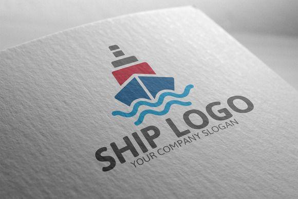 Ship Logo Templates by josuf on Creative Market