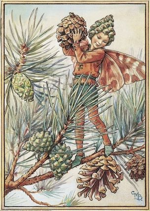 Pine Tree Fairy: