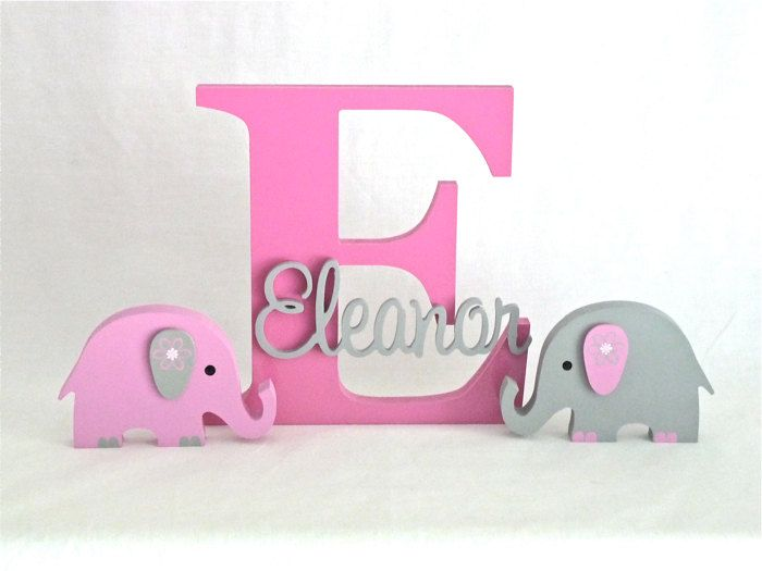 Wooden Letters Kids Name Signs Wall art Letters Wooden