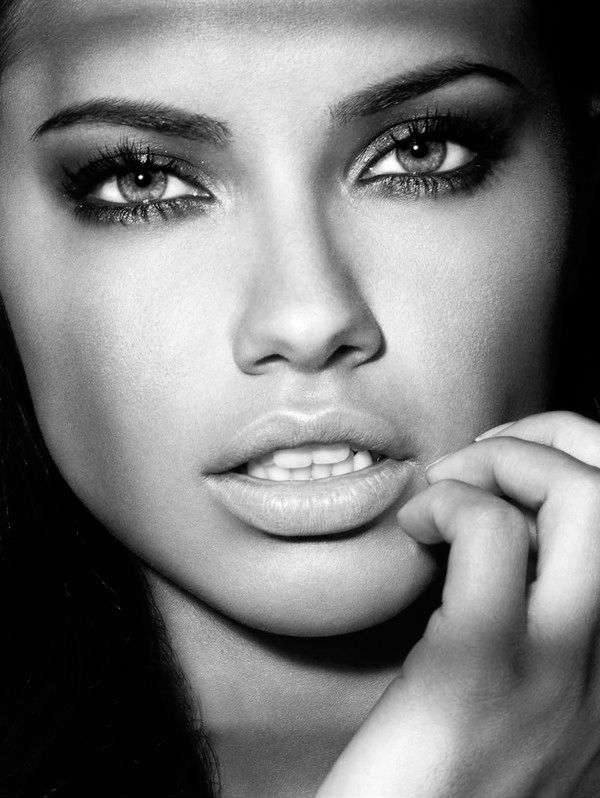 I strongly believe that Adriana Lima is the most beautiful woman alive.
