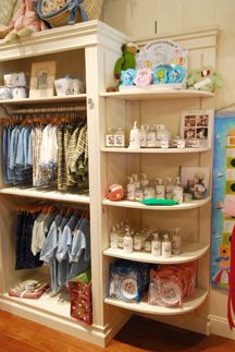 Retail Store - Shabby Chic - Display Fixtures