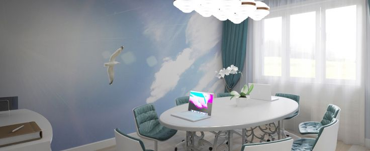Office small conference room-rendering