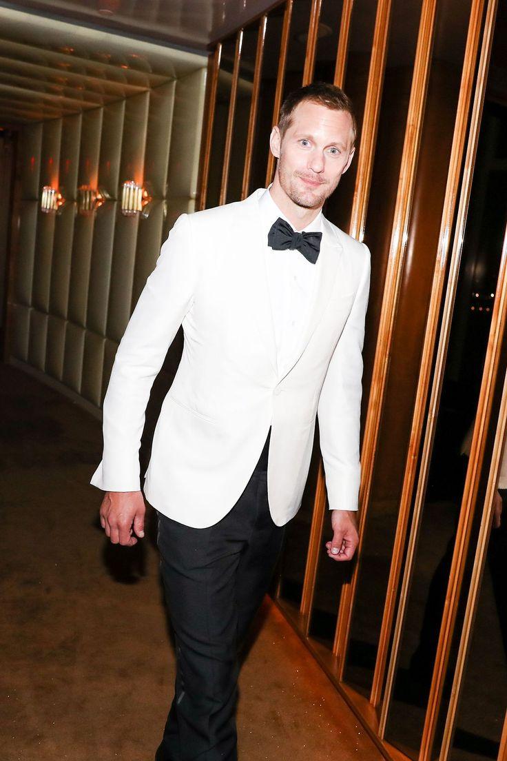 Alexander Skarsgård Online — Alexander Skarsgard at the Met Gala after party...