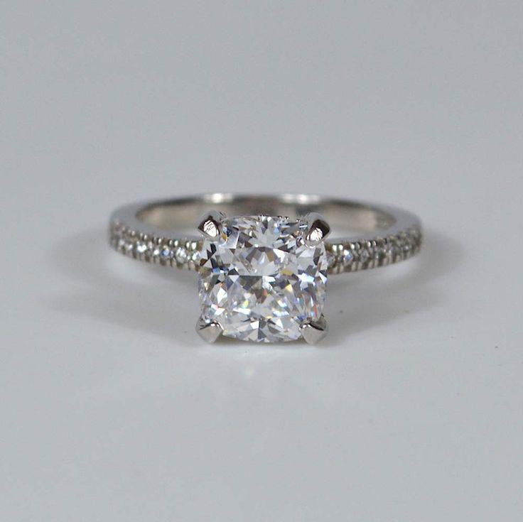 Fake or real diamond ring you tell me real diamond