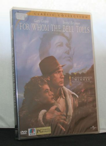 For-Whom-The-Bell-Tolls-DVD-NEW-Region-3-Cooper-Bergman