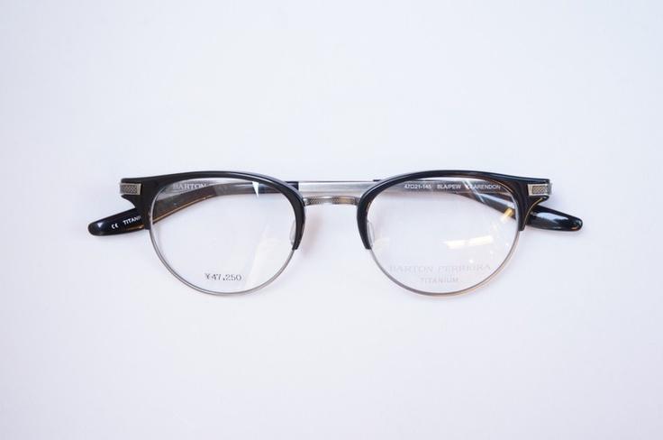 BARTON PERREIRA-バートンペレイラ メガネ CLARENDON CLARENDON ブラック/アンティークシルバー | eyewear | optician | ポンメガネWEB