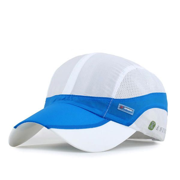 Unisex Mesh Polyester Baseball Cap Breathable Outdoor Sport Quick Dry Adjustable Buckle Hat at Banggood