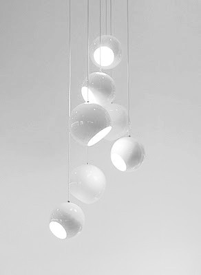 Set by Mordomias | suspended lampsilk coated electric wire