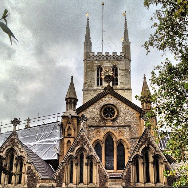 Southwark Cathedral in London, Greater London