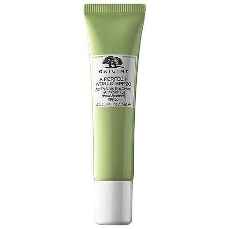 A Perfect World™ SPF 20 Age-Defense Eye Cream with White Tea - Origins | Sephora