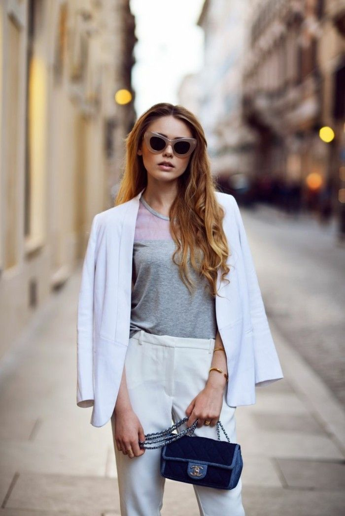 outfit damen cat eye sonnenbrille