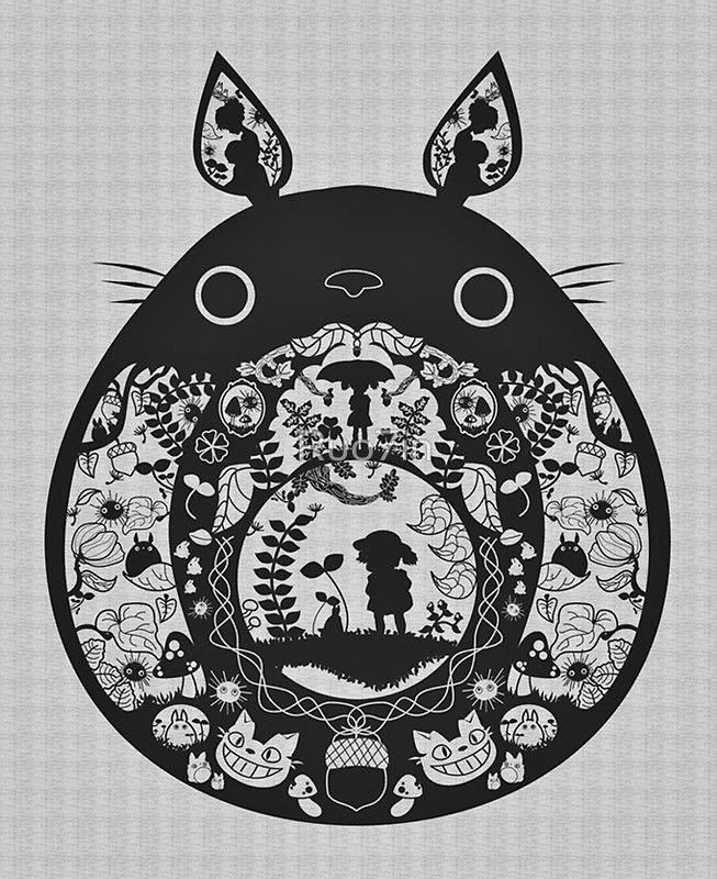 Totoro est un personnage de fiction créé en 1988 par Hayao Miyazaki, du Studio Ghibli, pour le film Mon voisin Totoro. #bestiaire
