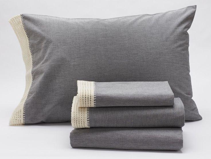 Crochet-Trimmed Sheets | Sheets + Pillowcases | Bed | Coyuchi