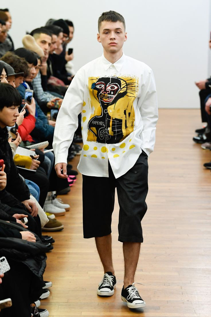The complete Comme des Garçons Shirt Fall 2018 Menswear fashion show now on Vogue Runway.