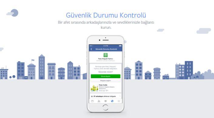 Ankara' da yaşayan bombalı saldırıdan sonra yakınlarınıza ulaşamıyorsanız Facebook' u kontrol edebilirsiniz.