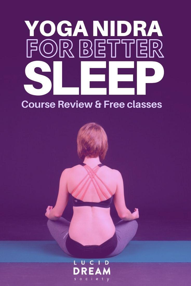 Free Yoga Nidra Classes For Better Sleep - Review | lucid