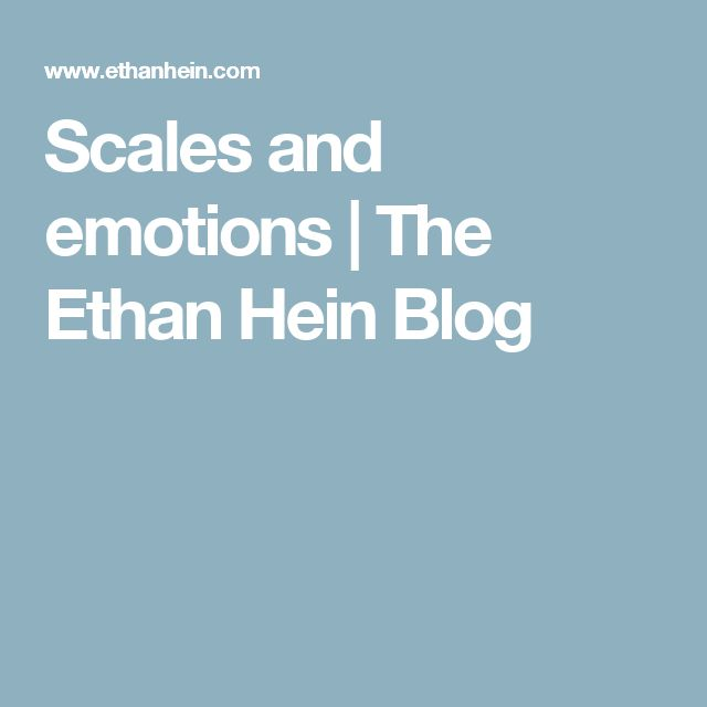 Scales and emotions   The Ethan Hein Blog   jazzmaster   Scale